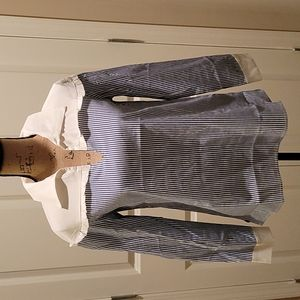 NWT Candence Cotton Blouse. This top is just what the doctor ordered for Spring!